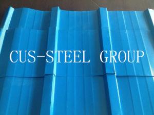 L'Afrique Nigeria Diamond prépeint Feuille de toiture en métal estampé