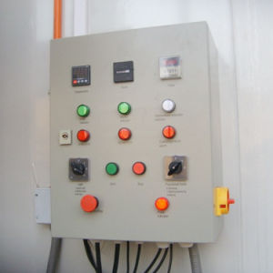 Farbanstrich-Zeile Cer-markierter Spray-Stand