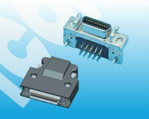 Macho SCSI 1,27 Pitch 26 pinos com conector de parafuso de teor de PCB