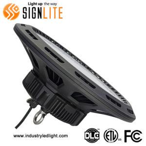 Los accesorios de iluminación industrial de 150W de luz LED de forma de OVNI de la Bahía de alta