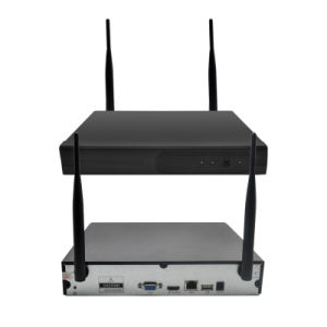Wholesale Wireless WiFi de seguridad de Canal 4 cámaras IP CCTV