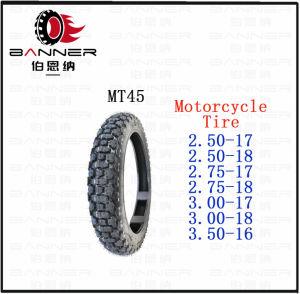 Venda por grosso de fábrica de pneus de motocicleta/ Pneu (2.50-17/18 2,75-17,/18 3.00-17/18 3.50-16)