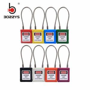OEM Anse en acier inoxydable coloré cadenas de sécurité en plastique (BD-G41)