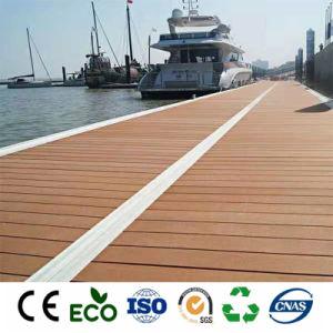 Piscina Exterior Skin-Friendly WPC impermeável Floor/Azulejos composto de madeira em deck WPC
