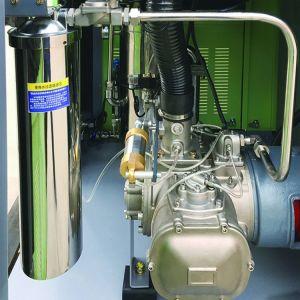 22 kw (30 HP) de água de homologação CE de tipo VFD Lubrificado Compressor de ar de parafuso isentos de óleo