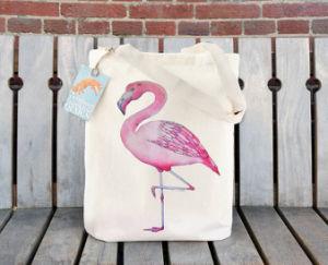 Il tessuto pieghevole ricicla/Eco/sacchetto di acquisto del cotone della tela di canapa della spiaggia del regalo Tote della drogheria