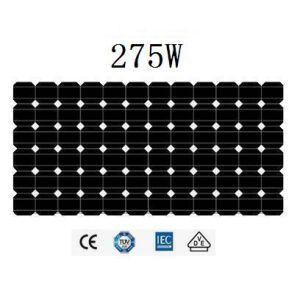 275Wモノクリスタル太陽電池パネル(JHM275M-72)