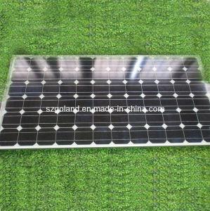 モノラル結晶のケイ素の太陽電池パネル(GCC-160W)