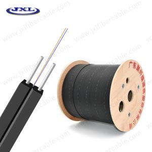 Китай производителя для дома для использования внутри помещений 1 2 4 core FRP/стальной проволоки в раскрывающемся списке сетей FTTH с использованием оптоволоконного кабеля