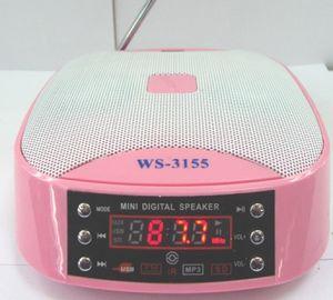 Mini altoparlante multifunzionale con il USB, carta di deviazione standard, FM (WS-3155)