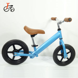 12 인치 공기 타이어 판매 알루미늄 프레임을%s 가진 소형 아기 도보 자전거 발을%s 가장 싼 균형 자전거 힘 아이 운영하는 자전거 자전거