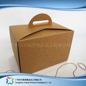 Крафт-бумаги плоские складные упаковка одноразовые торт подарочная упаковка (xc-pbn-027)