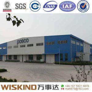Instalación sencilla estructura de acero Taller Construcción de almacén para la industria