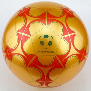 logotipo cmyk imprimir bola de brinquedos de pvc football bola de