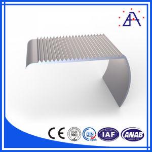 Espulsione di alluminio di profilo della guida della scanalatura del fornitore V dell'oro della Cina