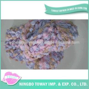 Tampa de Inverno Cachecol de malha de algodão de tecelagem de fios de fantasia