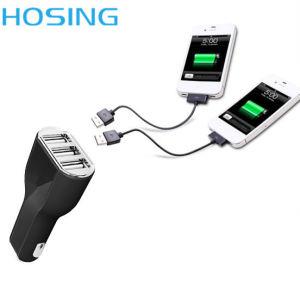 5 В постоянного тока 3порт USB 5.2A автомобильное зарядное устройство для iPhone 7