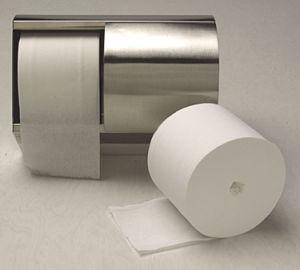 3 capas de alta calidad impresa de la capa de baño básico Rollo de papel higiénico