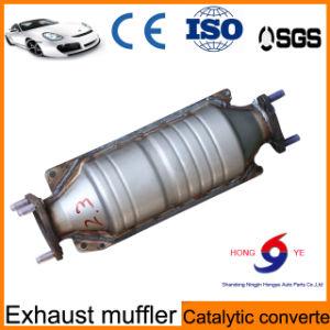 Convertidor catalítico del acero inoxidable del automóvil con precio de fábrica