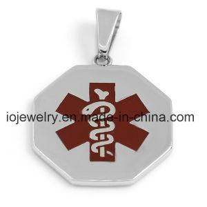 عادة طبّيّ يقظة مجوهرات 316 [ستينلسّ ستيل] مدلّاة