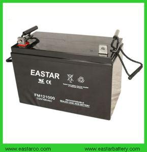 De Diepe Batterij met lange levensuur 12V 100ah van het Gel van de Cyclus Zonne