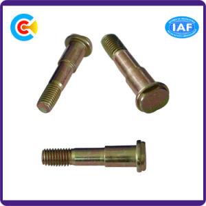 DIN и ANSI/BS/JIS Stainless-Steel Carbon-Steel/4.8/8.8/10,9 оцинкованных овальный шаг винта для строительства железной дороги