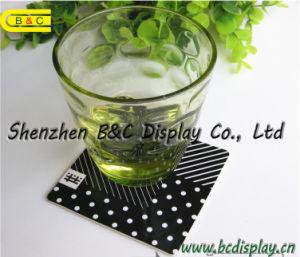 De Vierkante Geabsorbeerde Druk van uitstekende kwaliteit van het Verstand van de Onderleggers voor glazen van het Document 4c aan Beide Kanten, de Onderleggers voor glazen van het Bier (b&c-G106)