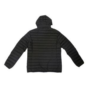 Commerce de gros d'hiver Healong Down Coat Men's Veste coton fait sur mesure