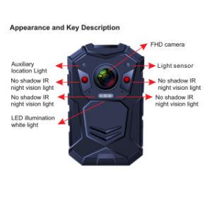 Guardia de Seguridad Cuerpo Cámara con audio y grabación de vídeo.