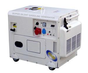 가정 사용 발전기 5kw 침묵하는 가솔린 발전기