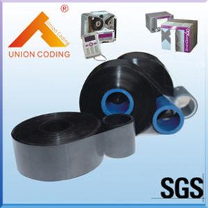 Ancho 33mm o 55mm Tipo de resina cerca del borde de cinta de transferencia térmica de Makem Overprinter utilizado en 8018 o la impresora X40