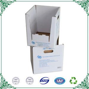 Гофрированный картон пользовательское поле печати Carboard белого цвета .