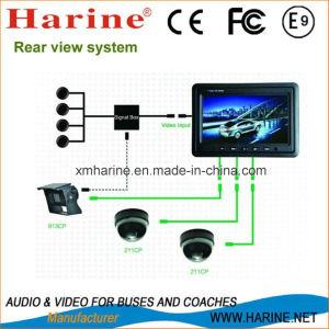 7-дюймовый монитор камеры и ЖК-дисплей датчика парковки по шине CAN