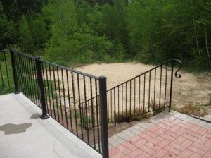 錬鉄のステンレス鋼のバルコニー階段柵のBaluster