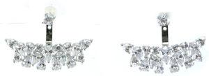 De Zilveren Oorring van de Gift van de Bevordering van het Ontwerp van de Stijl van Westerm voor Dame E6702