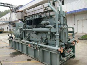 발전소의 대규모 건축을%s 사용된 미츠비시 1MW 1000kw 가스 발전기 세트 ISO 증명서
