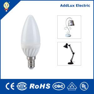 Лучше всего на заводе оптового продавца Wholesales Ce UL Saso E14 в форме свечи мощностью 3 Вт светодиод для поверхностного монтажа таблица лампы сделаны в Китае для жизни, Kithchen, гостиной и столовой освещения