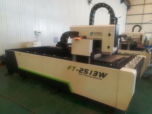 machine de découpage au laser à filtre en métal CNC 2513