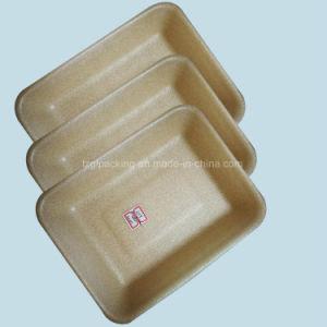 Amidon de maïs biodégradable de la volaille l'alimentation des bacs pour le stockage de supermarché