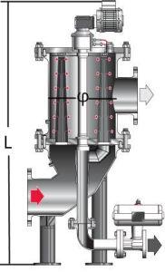Los líquidos mediante la eliminación de la contaminación de los Filtros Autolimpiantes