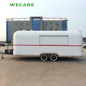 직류 전기를 통한 그려진 이동할 수 있는 간식 트럭