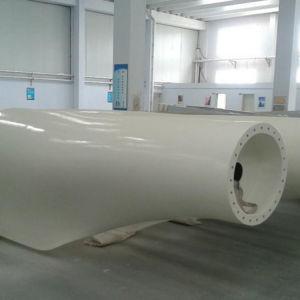 El eje horizontal de la turbina eólica de 600 W 24/48V 2,5 m/s de velocidad de arranque Control electromagnético aerogenerador Blades