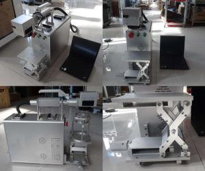 Лазерный поощрения 20W 30Вт портативный мини-Fibre лазерной маркировки