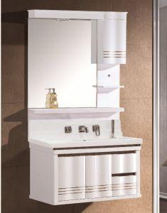 De Muur die van uitstekende kwaliteit het Meubilair van de Badkamers van de Ijdelheid van de Badkamers van pvc opzetten