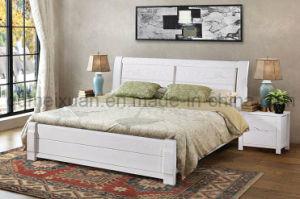 Festes hölzernes Bett-moderne Betten (M-X2740)