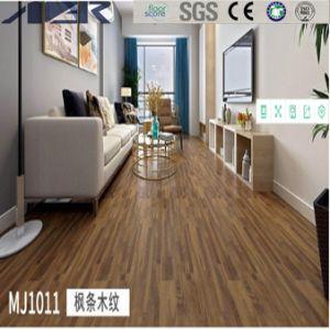 Du grain du bois auto-adhésif avec carrelage de sol en vinyle PVC SGS