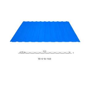 PPGI acier ondulé galvanisé prélaqué tôle de toit
