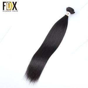 100 % naturel Remy Human Virgin cheveux raides péruvien de la trame