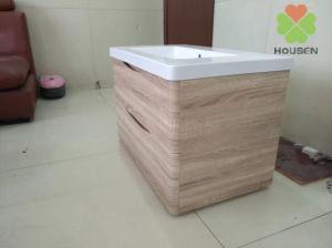 Hôtel/Accueil Salle de bains de luxe d'alimentation armoire avec porte laminée granuleuse et côté finition1103-800 HS-un