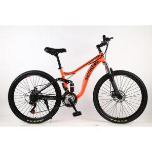 26 Polegadas Velocidade 21 China Barato Alta Qualidade Duplo de Aço da suspensão total MTB Mountain Bike aluguer